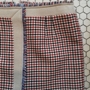 Balenciaga Skirts - Balenciaga Houndstooth Mini-skirt
